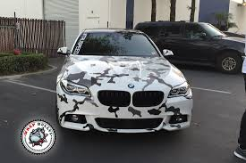 white wrapped cars bmw wrapped in snow white camo wrap bullys