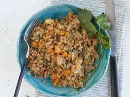 cuisiner le petit eautre risotto de petit épeautre aux légumes jardin bio