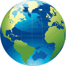 Earth World Map by Clipart World Map Vivid