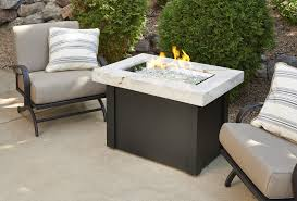 Fire Patio Table by Providence Fire Pit Table With White Onyx Top Fire Pits Fire