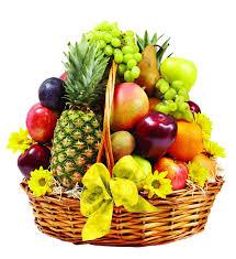fruit flower baskets fresh fruits baskets 12 flower faster