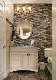Vanity Powder Room Inch Vanity Room Powder Room Traditional With Matchstick Tile Wall