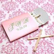 matches for wedding personalized pillow box matches personalized matches