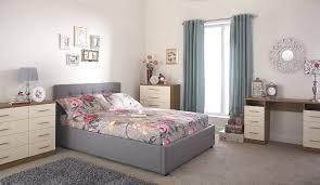 Milan Bed Frame Milan Bed Company Regal 4ft 6 Fabric Bedframe