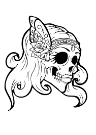 halloween candy coloring pages sugar skull coloring pages getcoloringpages com