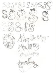 coming up with lettering styles u2014 twoeasels