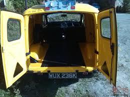 morris minor 6 cwt van yellow ex gpo