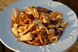 thanksgiving snack mix grocery shrink