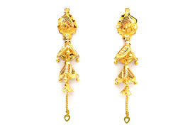 new fashion gold earrings gold earrings