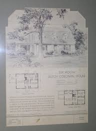 Dutch Colonial Revival House Plans by Historic New Albany