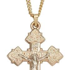crucifix gold necklace images Cheap gold crucifix necklace men find gold crucifix necklace men jpg