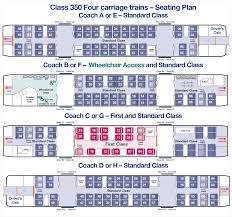 train floor plan timetables