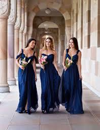 royal blue and silver chiffon bridesmaid dresses dress images