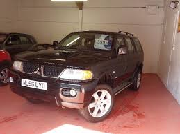 mitsubishi shogun sport warrior td 81000 miles long mot in