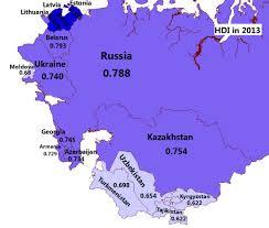 Baltic States Map Post Soviet States Mapioso