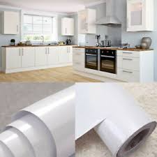 best paint for vinyl kitchen cabinets uk details about white vinyl kitchen cupboard door cover self adhesive protect contact paper
