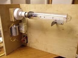 monochromatic light box for determining flatness optically redtorope