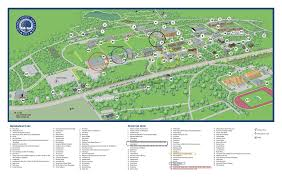 Central Michigan University Map Cmich Campus Map Central Michigan University Center Map South