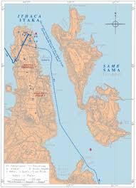 Ithaca Map Odysseus U0027s Ithaca