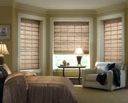 Drapery Ideas For Bedrooms Window Blinds Bay Window Blinds Ideas Bedroom Design A For Color