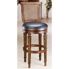 furniture outdoor bar stool with wrought iron ornate back and