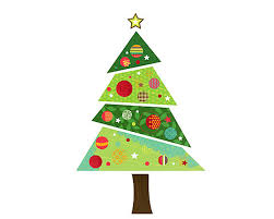christmas tree fabric christmas tree wall sticker