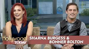 lexus bolton team sharna burgess u0026 bonner bolton talk u0027dwts u0027 u0026 bull riding youtube