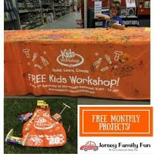 Home Depot Design Center Union Nj Home Depot Kids Workshop Jersey Family Fun