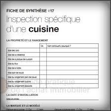 fiche de cuisine fiche de synthèse 17 guide pratique de l achat immobilier