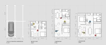 Low Cost Housing Floor Plans by Gallery Of Trading Parking Lots For Affordable Housing 1