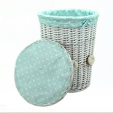 plastic laundry hamper aliexpress com buy woven wicker baskets round laundry hamper