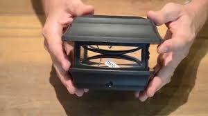 4x4 solar post lights solar postcap light for 4x4 posts youtube