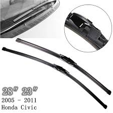honda civic wipers pair vehicle front 28 23 windscreen wiper blades for honda