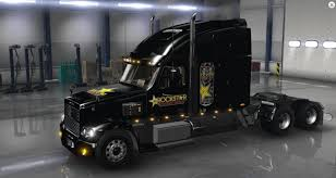 freightliner coronado rockstar energy drink skin american truck