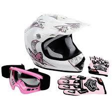 youth xs motocross helmet dot youth pink butterfly dirt bike atv helmet motocross goggles