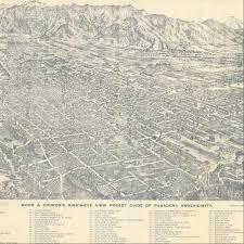 Rose Hills Map Citydig Mapping Pasadena U0027s First Rose Parade Los Angeles Magazine