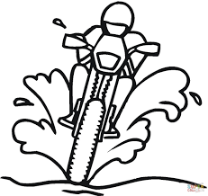 racing on the dirty road coloring page free printable coloring pages