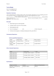 Best Resume Format For Experienced Software Engineers by Best Resume For Experienced Software Engineer Resume For Your