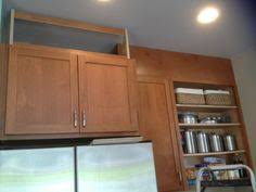 Space Above Kitchen Cabinets Ideas Filling In That Space Above The Kitchen Cabinets Empty Spaces