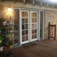 Outswing Patio Door by Outswing French Patio Doors With Screens Three Panel Glass Doors