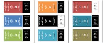 ms word editable and printable event tickets template formal