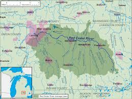 Michigan State Campus Map Red Cedar River Michigan Wikipedia