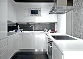 cuisine blanche laqué cuisine blanc laque et gris cosy cuisine cuisine blanche laquee et