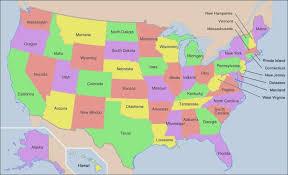 usa map just states us map 52 states