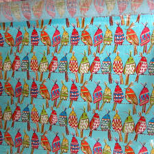 Upholstery Fabric With Birds Perched Birds Multipurpose Decor Designer Upholstery Drapery