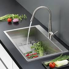 ruvati tirana 25 x 22 overmount 16 single bowl kitchen