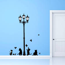 Decoration Cat Wall Decals Home by Beat Love Cat Wall Sticker Wall Decal Removable Diy Home