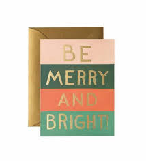 holiday greetings rifle paper co