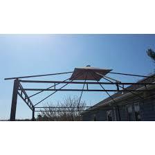 Sonoma Canopy by Sonoma 2014 Solar Gazebo Replacement Canopy Riplock 350 Garden Winds