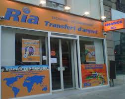 bureau de transfert d argent agences ria